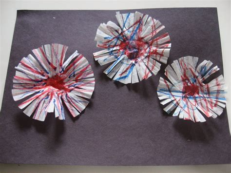 Paper Fireworks Crafts - craftista 11 fourth of july crafts editorial by