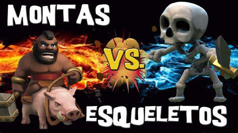 imagenes ocultas de clash of clans esqueletos contra montapuercos ataques 9 descubriendo