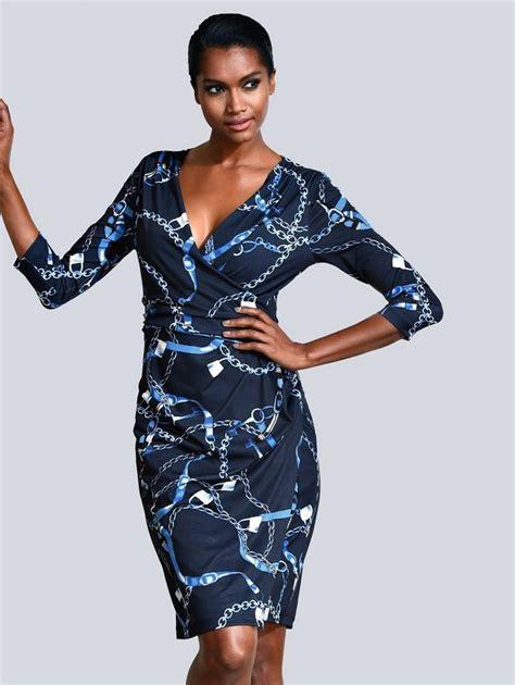 alba moda kleid  alba moda exklusivem print otto