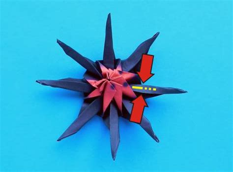 Origami Spider Diagram - joost langeveld origami page