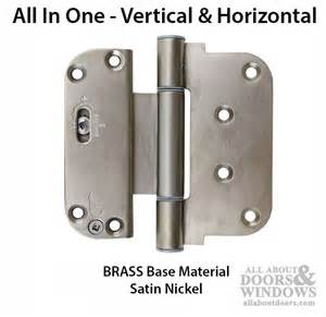 adjustable door hinges 3 5 8 x 4 adjustable hinge all in one v h nrp outswing