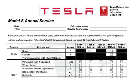 Maintenance On A Tesla Tesla Model S Service Plan Is It Worth It
