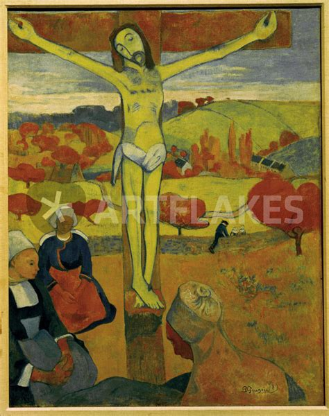 gelbe le quot paul gauguin der gelbe christus quot picture prints and