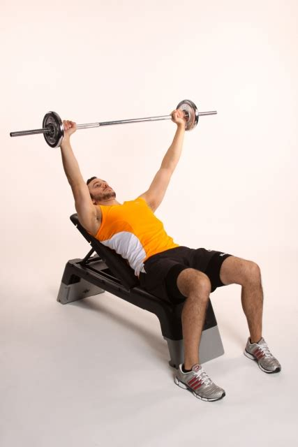 bench barbell incline bench press with barbell ibodz online personal trainer