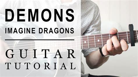 Tutorial Demons Guitar | imagine dragons demons fast guitar tutorial easy