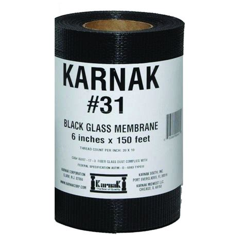 karnak fiberglass membrane fabric 31 06 the home depot