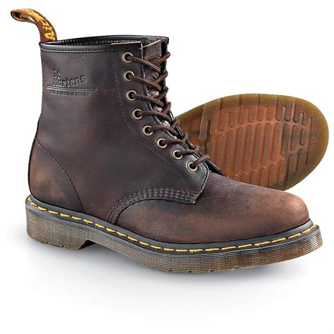 s dr martens boots brown 128673 casual shoes at