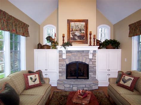 Country Kitchen Sink Ideas fireplace cabinetry archives north country cabinets
