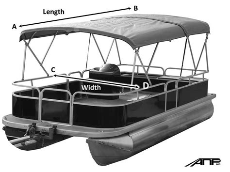 pontoon double bimini top pontoon canopy cover sea legs canopy