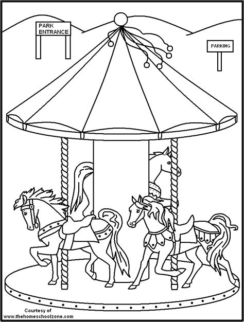 Carnival Coloring Page Coloring Home Carnival Coloring Pages