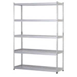 shelving at home depot husky 48 in w x 24 in d x 78 in h steel 5 shelf