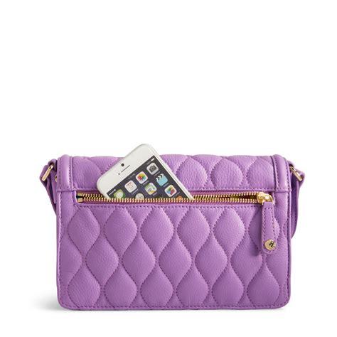 Vera Bradley Quilted Handbags by Vera Bradley Quilted Leather Tess Crossbody Bag Ebay