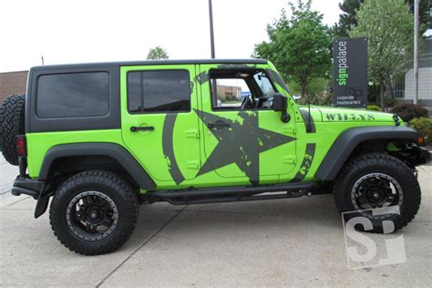 Jeep Wrangler Graphics Boats Cars And Specialty Equipment Graphics By Sign