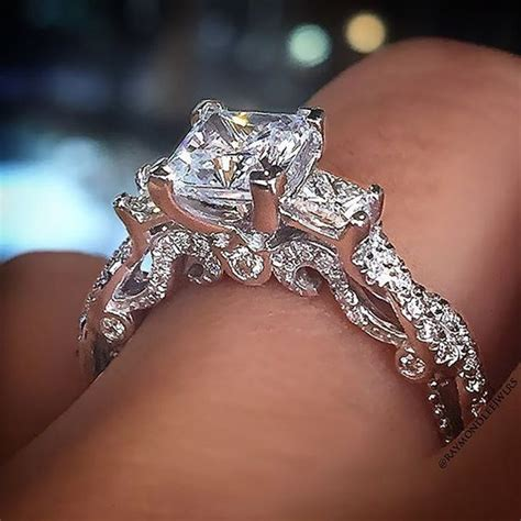 Teure Verlobungsringe by Top 10 Princess Cut Engagement Rings Wedding Wedding