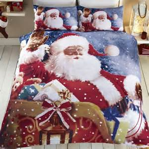Super King Size Duvet Covers Sale Father Christmas Christmas Santa Duvet Quilt
