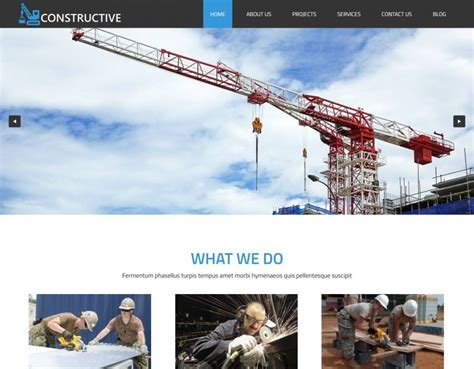drupal themes construction constructive the professional drupal theme for