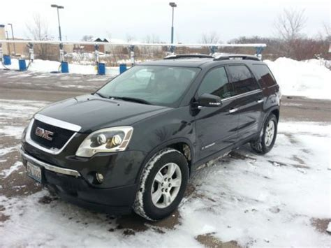 how to sell used cars 2007 gmc acadia spare parts catalogs buy used 2007 gmc cyber gray acadia stl2 fwd gm certified 2 2 3 seating hud loaded 7 seat in