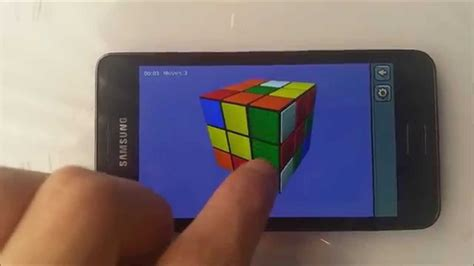 tutorial android game unity rubik s tutorial unity game for android youtube