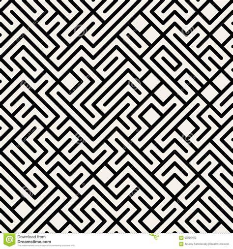 svg pattern x y vector maze geometric seamless pattern blanco y negro