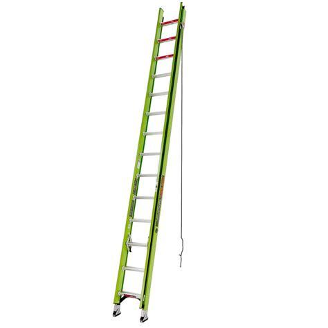 werner 20 ft aluminum extension ladder with 225 lb load
