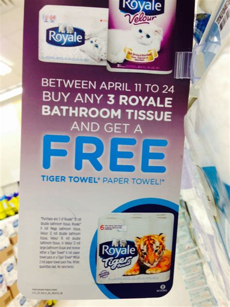 royale bathroom tissue coupon shoppers drug mart canada free royale tiger towels when