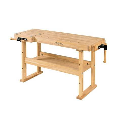 wooden workshop benches signature development 72 in fold out wood workbench