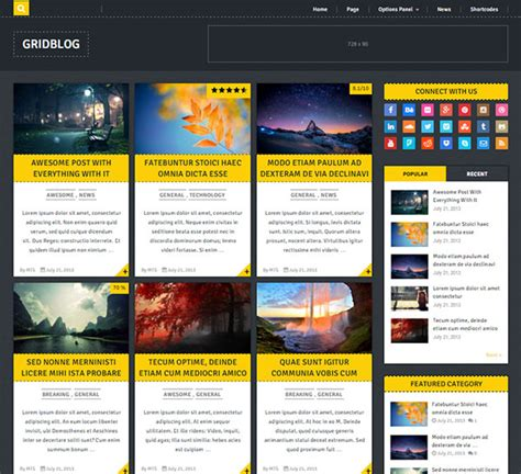 top 15 best free responsive wordpress themes templates