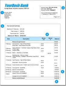 Sample bank statement bank statement sample gif