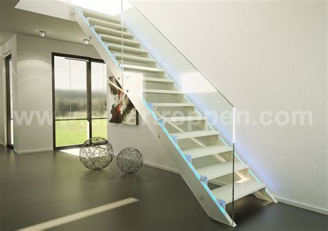 Glass Stair Banisters by Glass Stairs And All Glass Staircases Benjamin Friedl