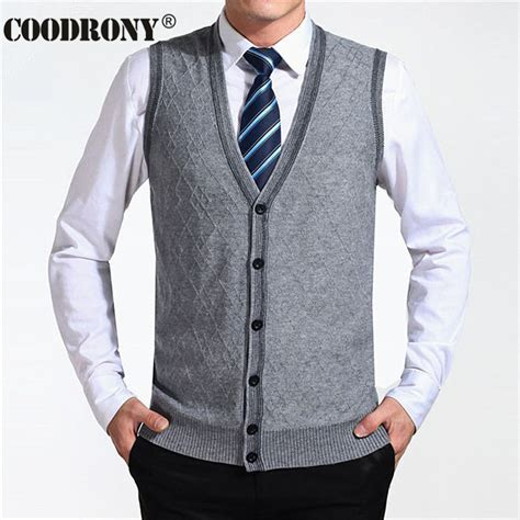 Vest Cardigan Denim 2016 new arrival autumn clothing sweater cardigan vests wool vest knitted mens