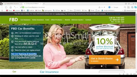 Motor Car Insurance Quote by Car Insurance Motor Insurance Quotes Fbd