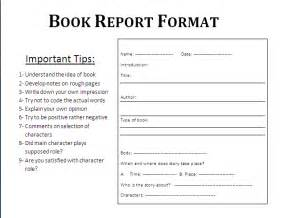 Book Report Apa Format 8 College Book Report Template Expense Report