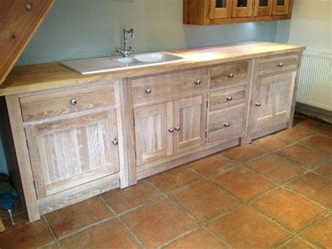 Oak Kitchen Units by New Limed Oak Kitchen Units Oak Free Standing Kitchens