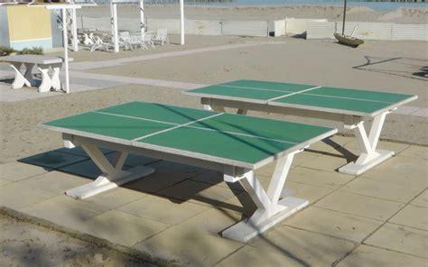tavoli da ping pong da esterno santarini lucio tavoli da ping pong