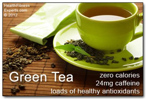 caffeine and calories in a cup of green tea health fitness experts