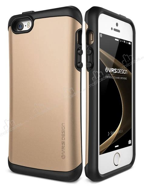 Verus Iphone Se5s5 Drop Thor Gold verus thor series drop iphone se 5 5s gold kılıf