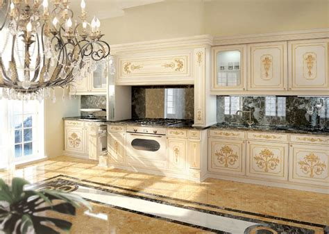 best designs of luxury kitchens in classic style classic luxury white lacquered kitchen with gold