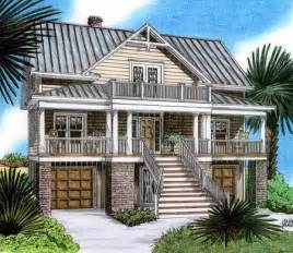 Beach Homes Plans by Raised Beach House Delight