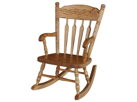 Childs Recliner Rocker by Amish Post Acorn Child S Rocker Brandenberry Amish Furniture