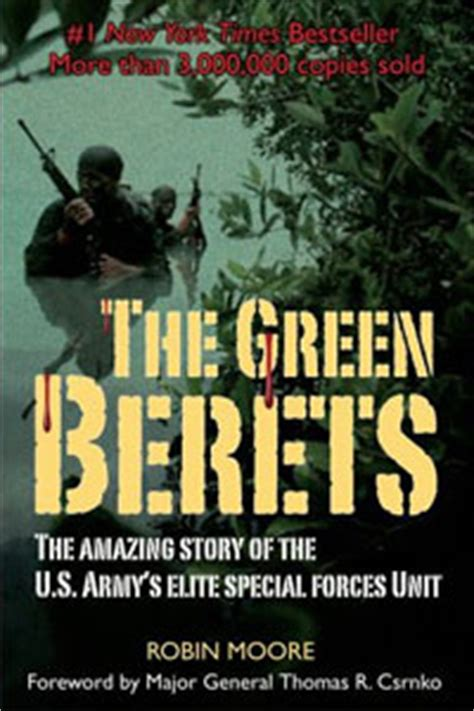 the in green books the green berets book