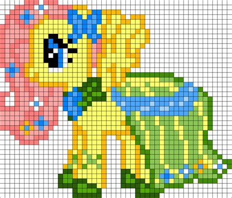 my pony perler bead patterns gala fluttershy my pony perler bead pattern bead