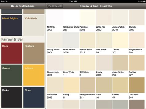 kwal paint color chart car interior design