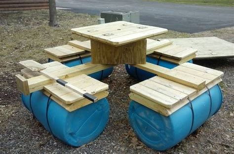 floating bench plans build an awesome floating picnic table your projects obn