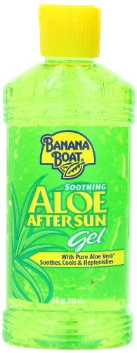 banana boat aloe vera sunburn know how to treat sunburn naturally at home