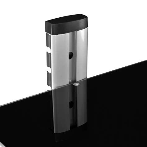 konsole wand en casa 174 dvd hifi glas regal wandhalterung wandhalter