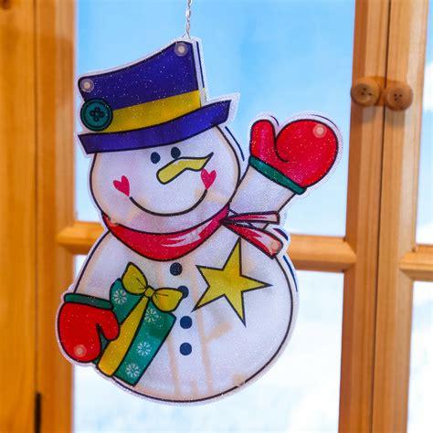 Fensterdeko Weihnachten Schneemann by Led Fensterdeko Schneemann Matz Kaufen Bei G 228 Rtner