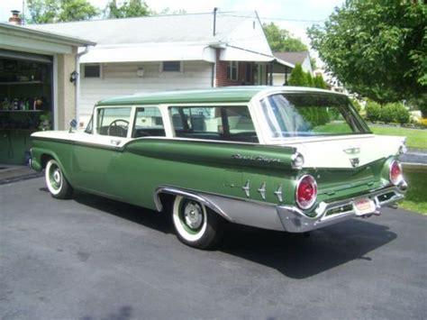green station wagon 1959 ford 2 door ranch wagon sherwood green april green