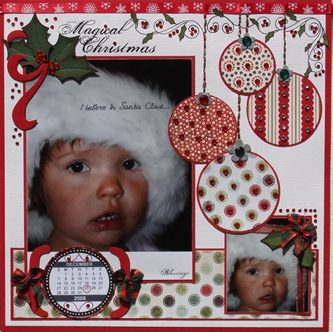 layout magical christmas
