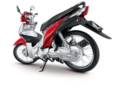 honda 110i wave rear section honda wave 110i motorcycle thailand