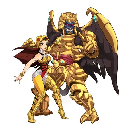 Goldar A scorpina and goldar by chicag on deviantart